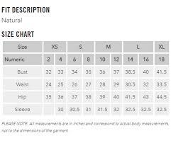 Ladies Pants Size Chart 10 Punctual Clothes Sizing Chart