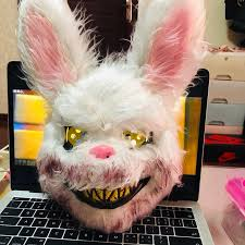 <b>Halloween Mask Bloody Killer</b> Rabbit Mask Teddy Bear