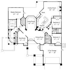 one floor house plans with two master suites wonderful e story home plans with two master