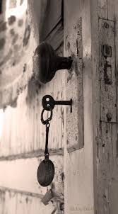 door lock and key black and white. Old Lock In The Door At My Grandma\u0027s House And Key Black White P