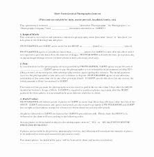 Wedding Photography Contract Template Awesome Wedding Graphy Terms