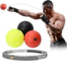 Amazon | パンチングボール ボクシング ボール 反射神経 動体視力トレーニング 軽量 格闘技 練習用ボール ストレス発散 グッズ |  LAOYE | パンチングミット