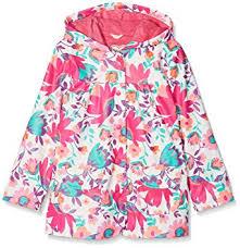 Hatley Raincoat Size Chart Amazon Com Hatley Kids Baby Girls Tortuga Bay Floral