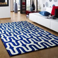 contemporary blue with white indoor area rug and room within rugs plan 13