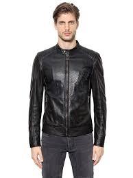 belstaff v racer leather moto jacket black men clothing belstaff belstaff jacket unique design