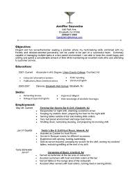 Server Resume Objective Food Server Resume Skills Server Resume Objective Resume 12