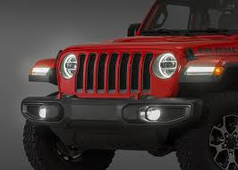 Jeep Jl Led Lights Mopar Led Headlamp Pair