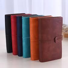 vintage business leather a5 notepad agenda jpg