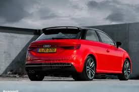 new audi 2018. brilliant 2018 new audi a1 rear exclusive render inside new audi 2018 6