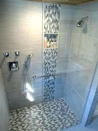 mosaic shower floor tile glass tile in shower white plaid pattern ceramic shower is glass tile
