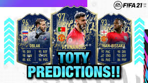 FIFA 21 | Early Toty Prediction 😱🔥| FT. OBLAK, MESSI, WAN-BISSAKA,  ROBERTSON, RONALDO...etc - YouTube