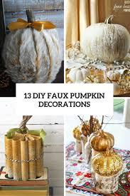 faux pumpkin decor cover