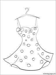 Small Picture Summer dress coloring page Coloring pages