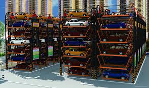 Car Parking Lift Design Multi Layer Lift Sliding Mechanical Type Rotary Car Parking