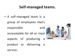 self managed teams self managed teams structural intervention organizational change
