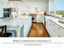 white coastal kitchen in branford ct