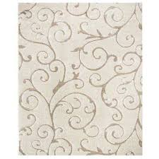 florida cream beige 8 ft x 10 ft area rug