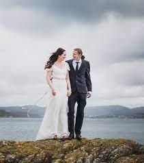 Lena + Kjetil   Fotograf Mari Halvorsen