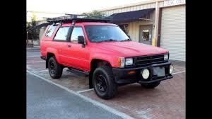 1989 Toyota Hilux Surf / 4Runner Diesel 2.4L 109K Miles / Rare ...