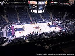 Oakland Arena Seating Chart Oracle Arena Seating Chart Warriors Game Bedowntowndaytona Com