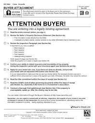 Sales Agreement Contract Gorgeous Arizona Purchase Contract Buyer Attachment Melissa Yost Fuentes