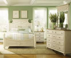 green colored furniture. Calming Relaxing Peaceful Bedroom Color Palette Sage Green Ivory White Colored Furniture