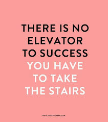Stairs Quotes Interesting Positive Quotes QUOTE TAKE THE STAIRS Talent Fashion