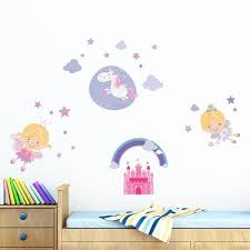 happy fairies wall decals