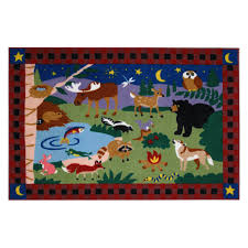 image of large area rugs for kids