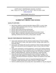 Sample Custodian Resume Custodian Resume Sample Jobsxs 7