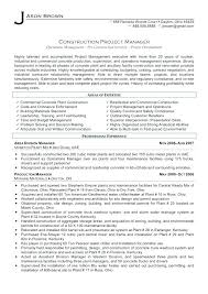 Project Management Resume Examples And Samples Eddubois Com