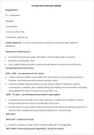 Resume Templates For Wordpad Interesting 48 BPO Resume Templates PDF DOC Free Premium Templates