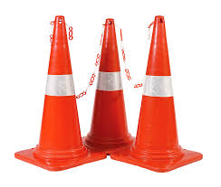 Lighted Collapsible Traffic Cones Transparent Cone Safety Transparent Png Clipart Free