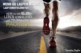 Marathon Sprüche über Sport