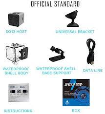 Amazon.co.jp: <b>SQ13 Mini Camera</b> Wifi Night Vision Base Waterproof ...