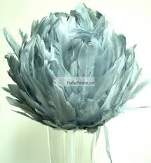 Decorative Feather Balls Classy Rose Balls Flower Balls Wedding Centerpieces Large Feather Ball