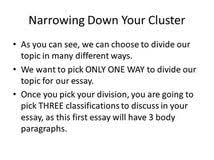 division classification essay examples benefits of learning division classification essay examples