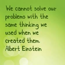 unlock the power of your subconscious mind einstein problems quote
