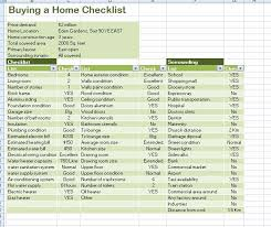 Professional Home Buying Checklist Template | Formal Word Templates