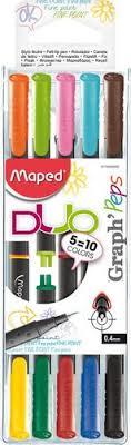 "<b>Ручка капиллярная</b> ""Graph Peps"", 0,4 мм, 10 цветов бренда ..."