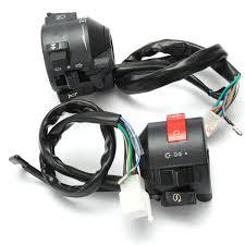 Kill Light Com Motorcycle 7 8 Inch Handlebar Horn Turn Signal Hi Lo Beam Kill Light Start Switch