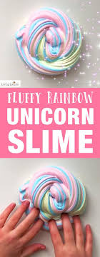 this is the best fluffy slime how to make rainbow unicorn fluffy slime in only