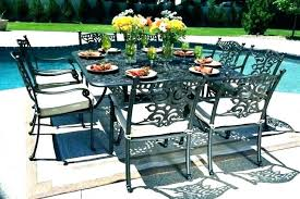 10 person round outdoor dining table set patio woodworking for seat 8