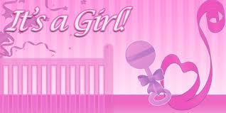 Its A Girl Banner Crib Design