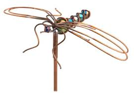 dragonfly garden stakes. SunSpots 99571 Dragonfly Garden Stakes