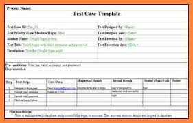 test plan template excel sample test case template with explanation of important fields