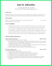 Graduate Nursing Resume Examples Interesting New Grad Registered Nurse Resume Socialumco