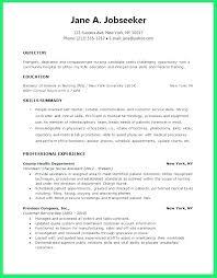 New Graduate Registered Nurse Resume Fascinating New Grad Registered Nurse Resume Socialumco