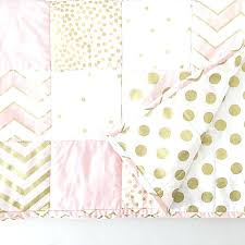 pink and gold baby bedding nursery bedding set gold and pink dots and arrows nursery pink pink and gold baby bedding