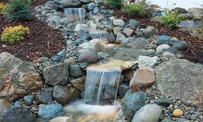 how to build a pondless waterfall